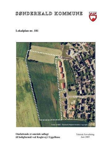 Lokalplan nr. 181 - Randers Kommune