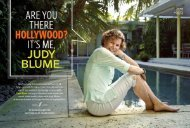 Read a profile on Judy Blume in Entertainment Weekly promoting ...