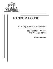 EDI Implementation Guide 850 _version 4010 - Randomhouse.biz