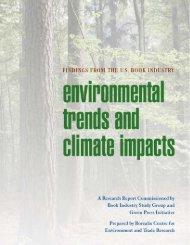 Environmental Trends and Climate Impacts - Randomhouse.biz