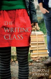 Read Stephanie Johnson's The Writing Class - Random House