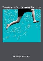 Vorschau Herbst 2013 - Random House