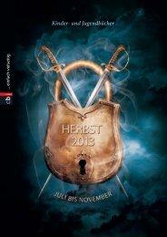 cbj Vorschau Herbst 2013 - Verlagsgruppe Random House GmbH