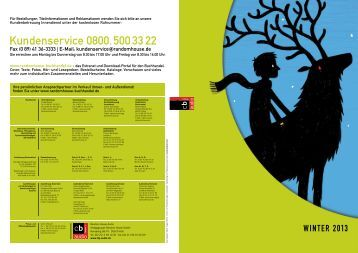 cbj audio - Vorschau Winter 2013 (pdf, 7.0 MB) - Verlagsgruppe ...