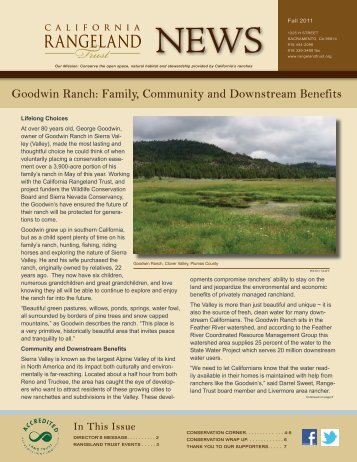 Goodwin Ranch - The California Rangeland Trust