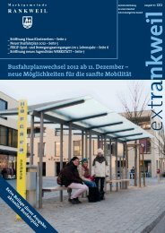 extRankweil Dezember 2011 - Marktgemeinde Rankweil