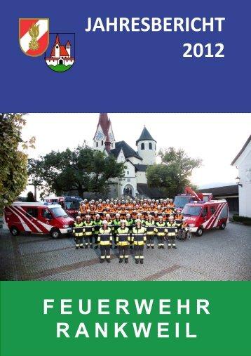 Jahresbericht 2012 - Kopie - Marktgemeinde Rankweil