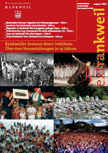 extRankweil Juni 2013 - Marktgemeinde Rankweil