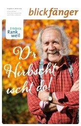 Ausgabe 17 I Herbst 2013 - Marktgemeinde Rankweil