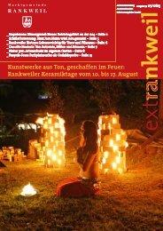 extRankweil Juli - August 2013 - Marktgemeinde Rankweil