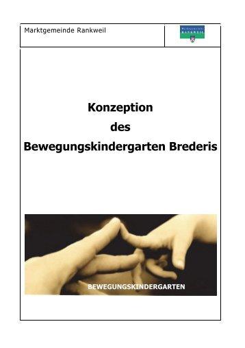 Konzeption 2013-14 - Marktgemeinde Rankweil