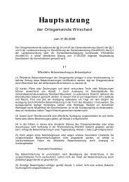 Hauptsatzung - Verbandsgemeinde Ransbach-Baumbach
