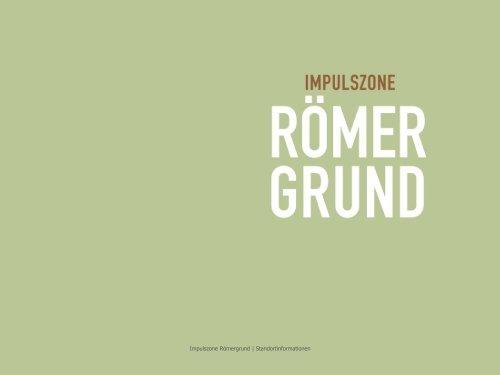 Präsentation Impulszone Römergrund - Marktgemeinde Rankweil