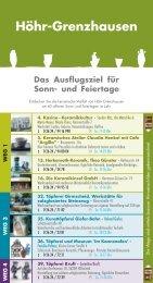 Einleger kad-Spur - Verbandsgemeinde Ransbach-Baumbach