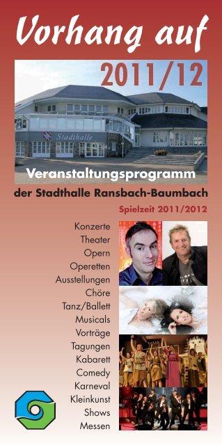 Vorhang auf - Verbandsgemeinde Ransbach-Baumbach