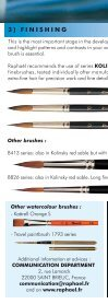 watercolour choosing and maintaining your fine brushes - Raphaël - Page 6