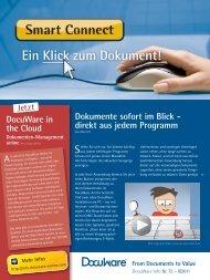 Ein Klick zum Dokument! - rapid enterprise solutions GmbH