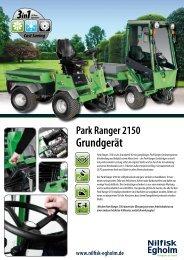 Cost Saving Park Ranger 2150 Grundgerät - Rapid Technic AG