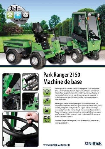 Cost Saving Park Ranger 2150 Machine de base