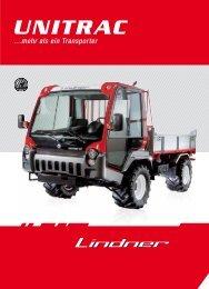 Unitrac Prospekt Agrar - Lindner Traktoren