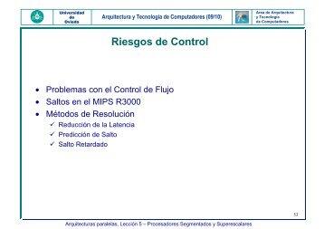 Salto Retardado - Arquitectura y Tecnología de Computadores ...