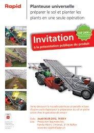Invitation - Rapid Technic AG