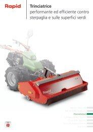 Trinciatrice performante ed efficiente contro ... - Rapid Technic AG
