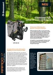 Glasklarer Fall: - bei der Wärmetechnik Service GmbH