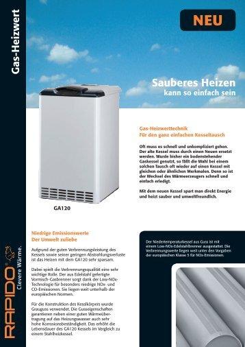 Sauberes Heizen - bei der Wärmetechnik Service GmbH