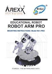 ROBOT ARM PRO - Rapid Electronics