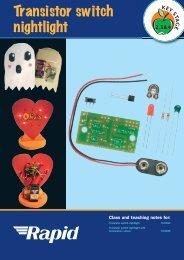 70-6024_transistor_switch_nightlight: Mini-light ... - Rapid Electronics
