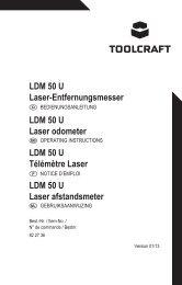LDM 50 U Laser-Entfernungsmesser LDM 50 U Laser odometer ...