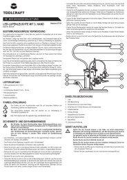 LED-LUPENLEUCHTE MIT 3. HAND - Rapid Electronics