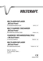"MULTILADER-ENTLADER ""B6 Dual Power"" - Produktinfo.conrad.com"