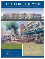 H Street Redevelopment 8.5 X 11 Leasing Sheet