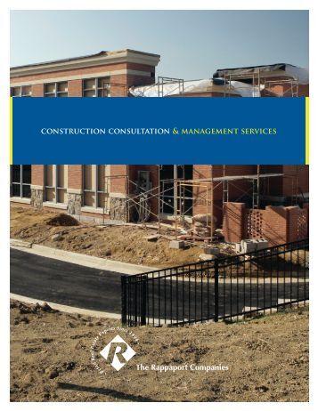 Rapp Construction Management - The Rappaport Companies