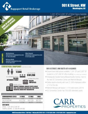 901 K Street, NW - The Rappaport Companies