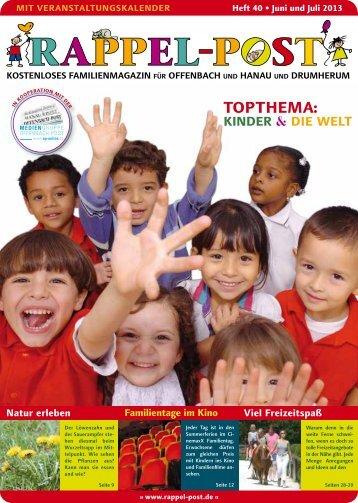 toptHema : Kinder & die welt - Rappel-Post