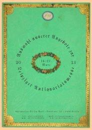 L e ip ziger Antiquariatsme s s e A u swahl ... - Rare Books Berlin