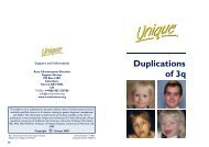 Duplications of 3q FTNP.pub - Unique - The Rare Chromosome ...