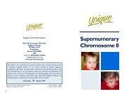 Supernumerary chromosome 8 FTNS.pub - Unique - The Rare ...