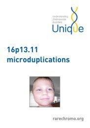 16p13.11 microduplications - Unique - The Rare Chromosome ...