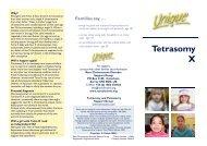 Tetra X QFN.pub - Unique - The Rare Chromosome Disorder ...