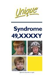 Syndrome 49,XXXXY - Unique - The Rare Chromosome Disorder ...