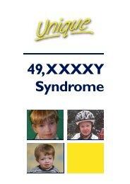 49,XXXXY Syndrome - Unique - The Rare Chromosome Disorder ...