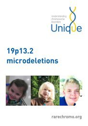 19p13.2 microdeletions - Unique The Rare Chromosome Disorder ...
