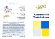 Robertsonian Translocations German FTNS.pub - Unique - The ...