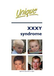 XXXY syndrome FTNW French - Unique - The Rare Chromosome ...