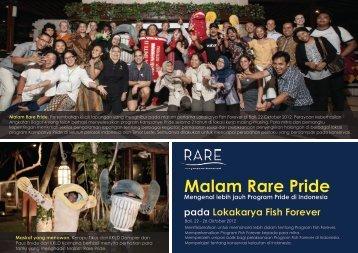 Malam Rare Pride - RarePlanet