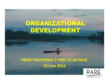 ORGANIZATIONAL DEVELOPMENT - RarePlanet